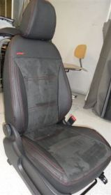 Autopotahy kožené MAZDA 3 II, sedan, od r. 2009, kůže a alcantara