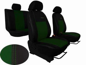 Autopotahy XSARA PICASSO, 5 míst, od r.1999-2010, kožené EXCLUSIVE zelené