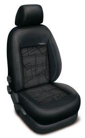 Autopotahy Ford Focus  III, bez zadní loketní opěrky, AUTHENTIC DOBLO, Matrix šedý