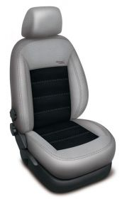 Autopotahy FORD C-MAX II,5 míst, od r. 2011, AUTHENTIC VELVET šedočerné