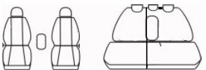 Autopotahy Honda CRV IV, od r. 2011, antracit Vyrobeno v EU