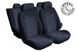 Autopotahy Opel Movano B, 3 místa, dělené dvojopěradlo a sedadlo, od r. 2010, antracit