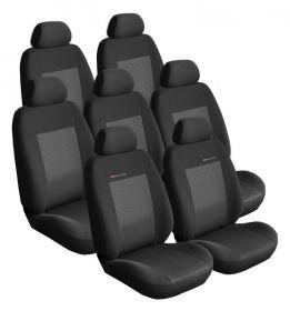 Autopotahy PEUGEOT 807, 7 míst, od r. 2002-2014, černé