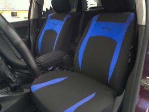 Autopotahy Design modré Vyrobeno v EU