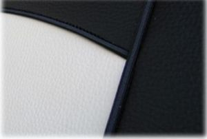Autopotahy kožené Tuning černobéžové