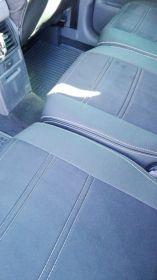 Autopotahy Volkswagen TOURAN, 5 míst, od r. 2003- 2010, AUTHENTIC VELVET, černé