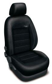Autopotahy AUDI A4 B8, od r. 2008, AUTHENTIC VELVET, černé