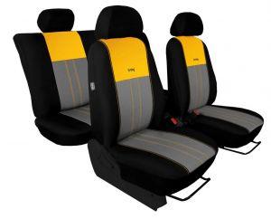 Autopotahy Hyundai i 30 II TYP GD, bez zadní lok.op.,od 2012-2017, DUO žluto šedé