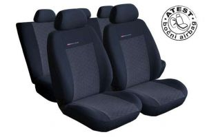 Autopotahy Ford Galaxy III, od r. 2010, 7 míst, dětská sedačka, antracit LUX STYLE Vyrobeno v EU