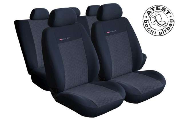 Autopotahy Ford Galaxy, I, II, od r. 94-2006, 5 míst, antracit LUX STYLE Vyrobeno v EU