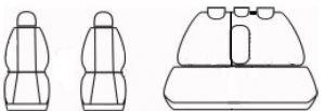 Autopotahy TOYOTA RAV 4 IV HYBRID, od r. 2016, GT červené