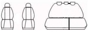 Autopotahy ISUZU D-MAX DOUBLE CAB, od r. 2014, AUTHENTIC DOBLO, žakar modrý