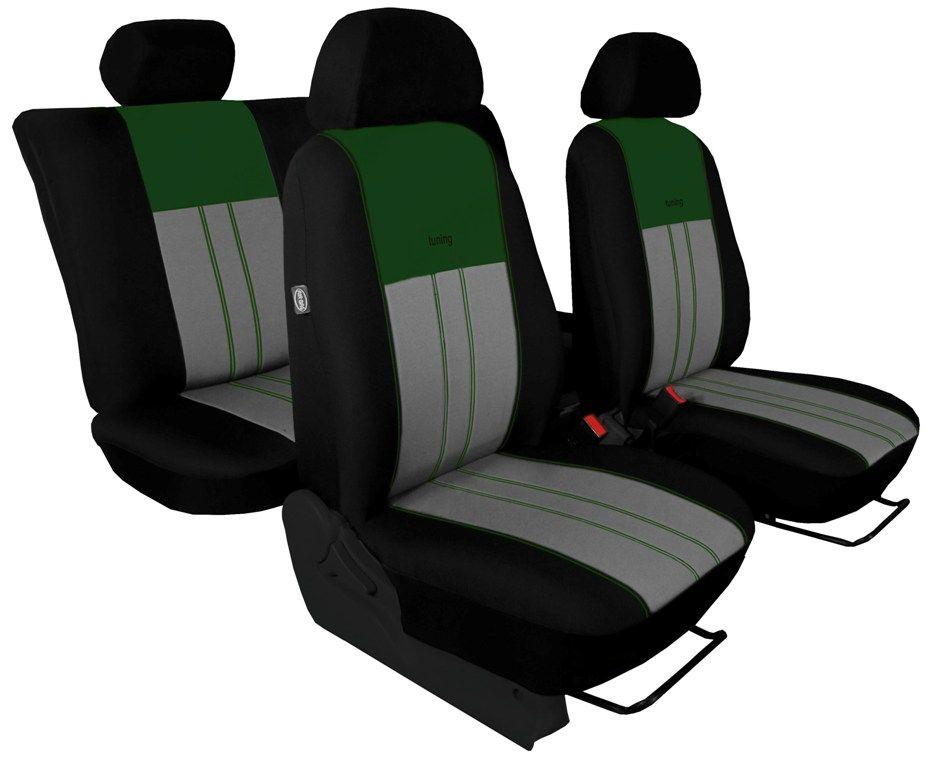 Autopotahy VOLKSWAGEN T-ROC, od r. 2017, DUE zeleno šedé