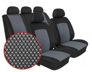 Autopotahy SEAT Mii, dělené, od r. 2011, DYNAMIC šedé