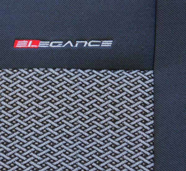 Autopotahy Renault Scenic III, 5 míst, od r. 2009, šedo černé Vyrobeno v EU