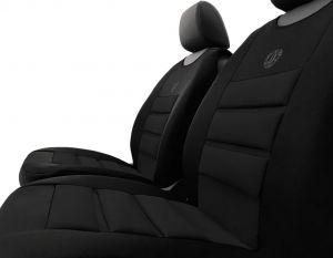 Ergonomický potah na 1 sedadlo ERGONOMIC, černý