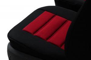 Ergonomický potah na 1 sedadlo ERGONOMIC, červený