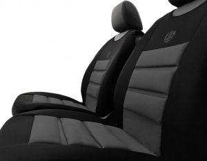 Ergonomický potah na 1 sedadlo ERGONOMIC, šedý
