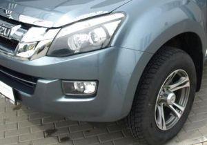 Autopotahy ISUZU D-MAX DOUBLE CAB, od r. 2014, AUTHENTIC DOBLO, vlnky černé