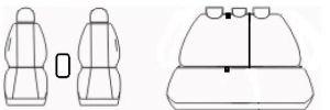 Autopotahy Seat Leon III, od r. 2012, antracit