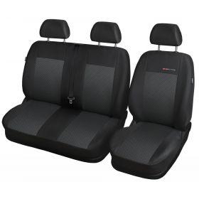 Autopotahy Fiat Doblo Cargo od r. 2015, 3 MÍSTA, černé
