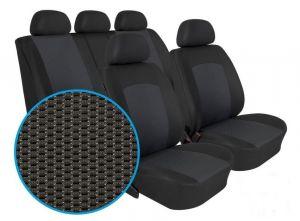 Autopotahy PEUGEOT 206, dělené opěradlo a sedadlo, od r. 1998, Dynamic grafit