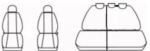 Autopotahy Citroen C4 HB od r. 2004-2010, antracit Vyrobeno v EU