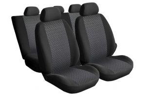 Autopotahy Škoda Fabia I, dělená, 5 opěrek hlavy,boční airbag,PRACTIC