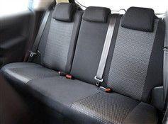 Autopotahy Škoda Fabia I, dělená, 5 opěrek hlavy,boční airbag,materiál PRACTIC Vyrobeno v EU