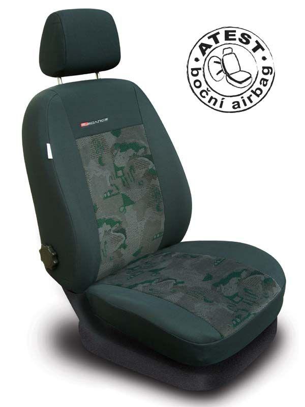 Autopotahy LUX STYLE Pick-Up zelenočerné