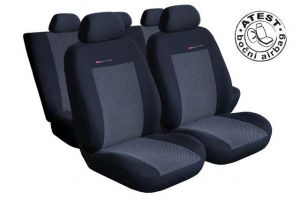 Autopotahy Seat Alhambra, od r. 94-2010, 5 míst, šedo černé LUX STYLE