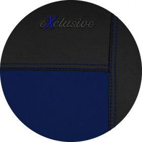 Autopotahy kožené EXCLUSIVE modré
