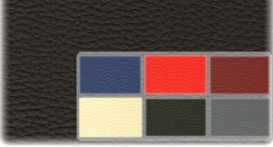 Autopotahy Škoda Fabia I kožené Tuning černošedé, dělené zadní sedadla, 5 opěrek hlavy Vyrobeno v EU