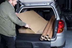 Vana do kufru Dacia Logan VAN 2 místný, BOOT- PROFI CODURA
