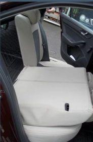 Autopotahy kožené MERCEDES GLK, od r. 2009, kůže a alcantara