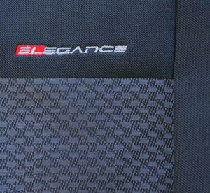 Autopotahy Fiat Ducato II, 3 místa, od r.2006, černé