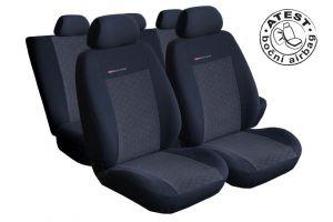 Autopotahy Seat Toledo III, od r. 2005, dělené zad. opěradlo a sedadlo, lok.op., antracit