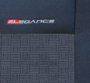 Autopotahy Seat Toledo III, od r. 2005, dělené zad. opěradlo a sedadlo, lok.op., antracit Vyrobeno v EU