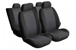 Autopotahy Škoda Octavia I TOUR, dělené zadní sedadla, 5 opěrek hlavy, PRACTIC